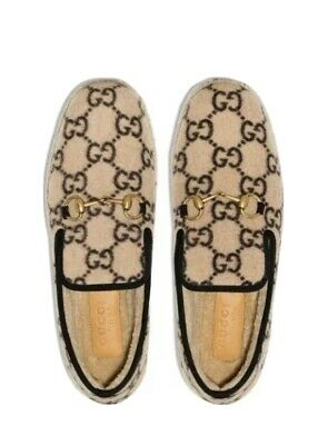 AU346.49 • Buy Gucci Men's Fria Wool Loafer New With Gucci Box And Satin Bags Retail $750