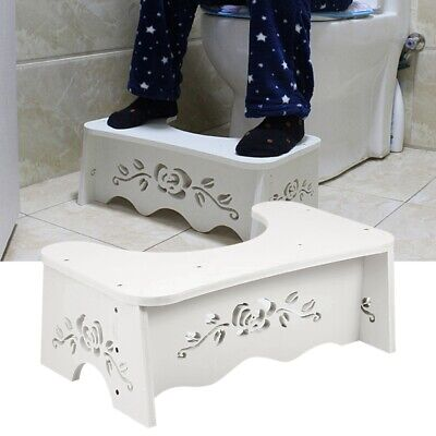 £7.98 • Buy Toilet Bathroom Squatty Step Stool Potty Squat Aid For Constipation Piles Relief