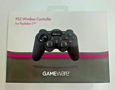£8.99 • Buy Wireless Playstation Controller PS3 Gameware Black Vibration Controller Refurb