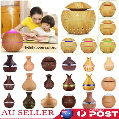 AU18.99 • Buy LED Aromatherapy Diffuser Aroma Essential Oil USB Air Humidifier Purifier Mist