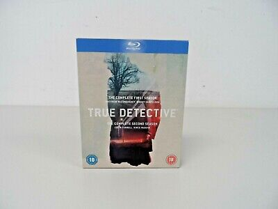 £10 • Buy True Detective The Complete First & Second Season Blu Ray Free UK P&P  B60