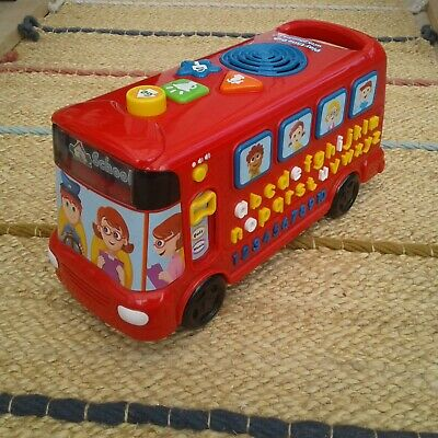 £3.99 • Buy VTech  Red  School Bus   Interactive Educational   (Musical,Sounds)