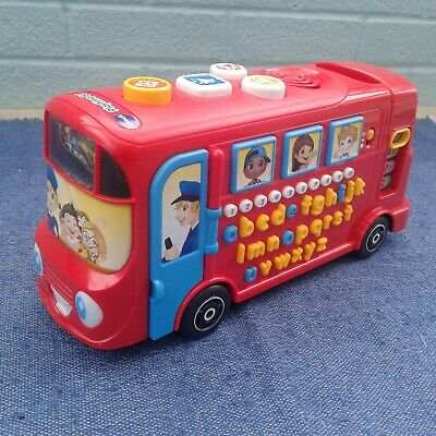 £5.75 • Buy VTech  Red  School Bus   Interactive Educational   Lights Musical,Sounds Phonics