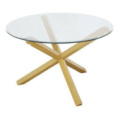 £75 • Buy Glass Round Dining Table. Excellent Condition. 200cm Diameter