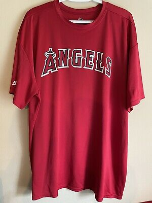 $14.95 • Buy Los Angeles Angels Mlb Majestic Cool Base Jersey 2xl