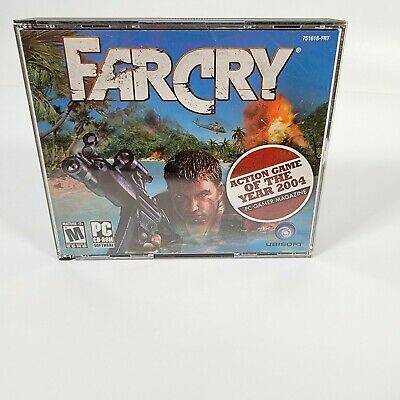 AU20.37 • Buy FarCry Ubisoft Far Cry PC 2004 5 Disc CD-Rom Set Software Paradise Gone Wrong