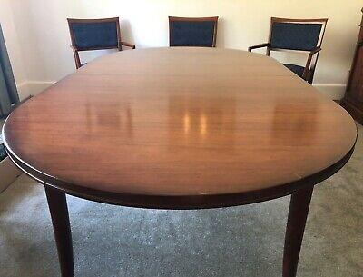 AU1000 • Buy Parker - Dining Table Oval & 6 Chairs / Walnut - Butterfly Extendable