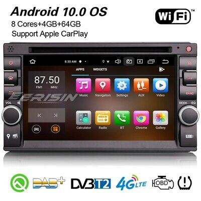 £228.86 • Buy 8-Core CarPlay Android 10 Universal Car Stereo DAB+ DSP 2Din Sat Nav For Nissan