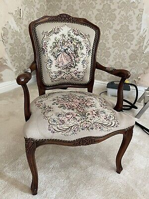 £25 • Buy French Louis Style Elbow Carver Chair.
