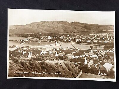 £4.95 • Buy CAMPBELTOWN FROM NORTH Argyll Real Photo Postcard Unused Valentines