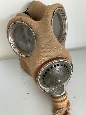 £50 • Buy WW2 Vintage Siebe Gorman Puretha Gas Mask With Canister. 1938 Loaded