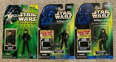 $ CDN22.65 • Buy Star Wars Vintage POTF Action Figures Lot - Power Of The Force -1998 Death Star