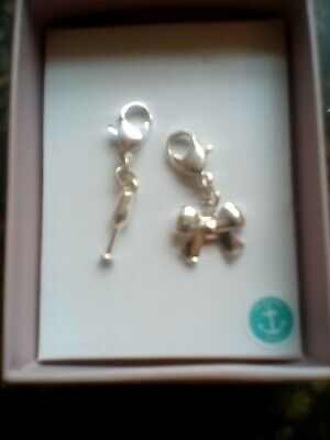 £1 • Buy Two Silver Braclet Charms