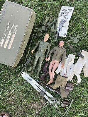 $ CDN46.65 • Buy Vintage Gi Joe Lot. One Of Figures Is Marked 1964 The Other Isn't Marked.