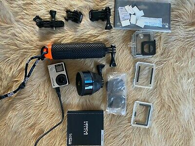 AU120 • Buy GoPRO Hero 4 Silver, Including Accessories, Mount, Covers, Connectors.