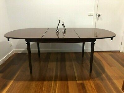 AU450 • Buy TH Brown Mid-Century Extension Dining Table