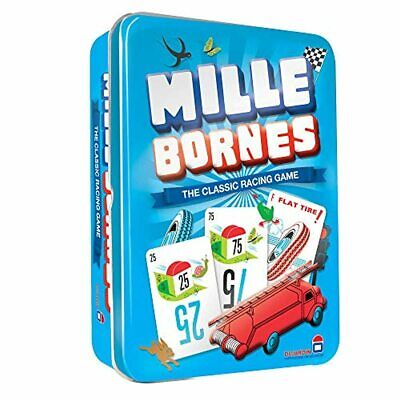 $16.69 • Buy Mille Bornes Card Game In Colorful Tin