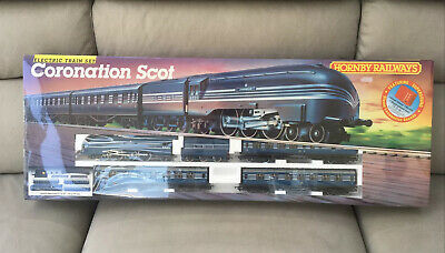 £325 • Buy Hornby Model Railway R.836 Lms Coronation Scot Oo Train Set - New And Sealed