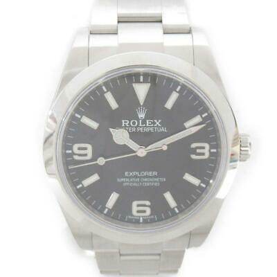 $ CDN16268.09 • Buy ROLEX Explorer 1 Watch 214270 Automatic Black Stainless Steel (SS) Used Mens
