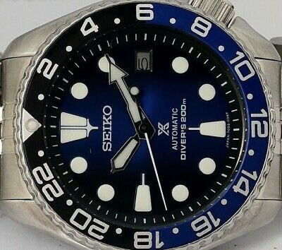 $ CDN5.55 • Buy Seiko Diver 7002-7001 Lovely Save The Ocean Mod Automatic Mens Watch Sn. 502594