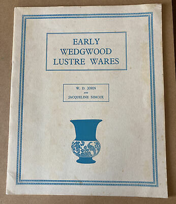 £10 • Buy EARLY WEDGWOOD LUSTRE WARES  1963 :- 10 Large Page Leaflet. Please See Notes)