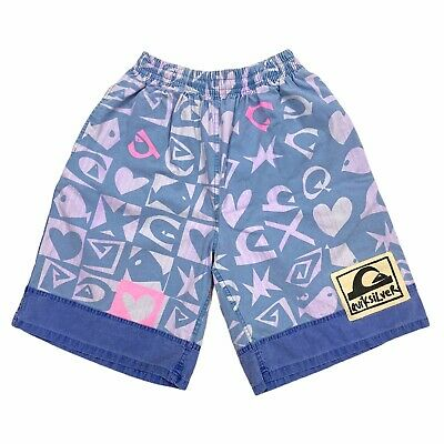 £35 • Buy Quiksilver All Over Print Funky Shorts | Vintage 90s Retro Street Surf Style VTG