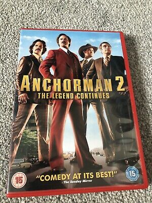 £1.65 • Buy Anchorman 2 The Legend Continues (DVD)