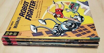 $150 • Buy Lot Of Magnus Robot Fighter 4000 A.D. Gold Key 11 Issues Silver Age Comics