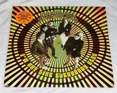 £11.54 • Buy THE CHOCOLATE WATCHBAND I'm Not Like Everybody Else GOLD VINYL LP Psychedelic