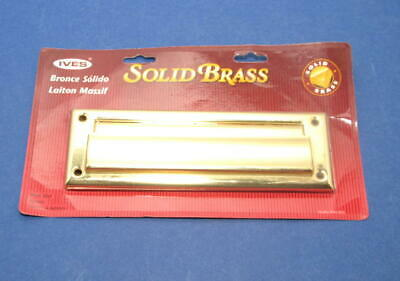 $20 • Buy IVES Mail Slot Door Solid Brass C626B - Made In USA - New,  Sealed