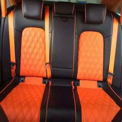 $ CDN17.45 • Buy Orange 4.8cm Auto Racing Car Harness 3 Point Front Safety Retractable Seat Belt*