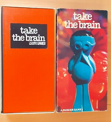 £42.99 • Buy Vintage TAKE THE BRAIN Board Game By PARKER 100% Complete 1970