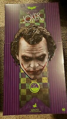 $550.99 • Buy Hot Toys QS10 The Dark Knight The Joker  1/4 Scale Action Figure