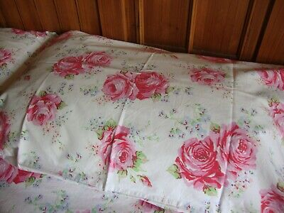 £59.99 • Buy Cath Kidston Classic Rose Double Or King 100% Cotton Bedding Set - Immaculate