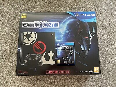 AU597.91 • Buy PS4 Playstation 4 Pro Star Wars Battlefront 2 Edition Console Excellent Complete