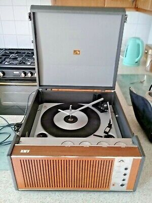 £40 • Buy 1967 Hmv Record Player 2030 Model Working Great Sound Sold As Seen