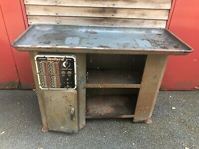 £550 • Buy Vintage Machine Stand And Drip Tray To Suit ML7 / ML7-R / SUPER 7 Lathe Myford