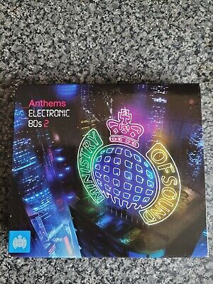 £4.99 • Buy 3 CD Album Boxset. Ministry Of Sound - Anthems Electronic 80s 2.