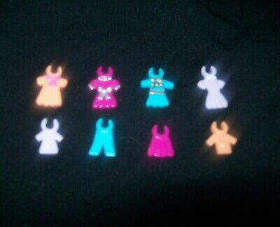 £1.20 • Buy EUC Full Set Of Vintage Polly Pocket Clothes For Magical Movin Pollyville Lot 14
