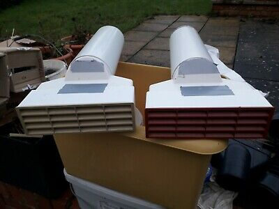 £15 • Buy AIR BRICK, ADAPTOR AND DUCT FOR BRIDGING CAVITIES  100mm  RED OR BUFF QUANTITY 2