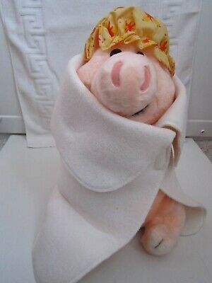 £28 • Buy Very Rare Aardman Creature Comforts Plush Martin The Pig With Shower Cap & Towel