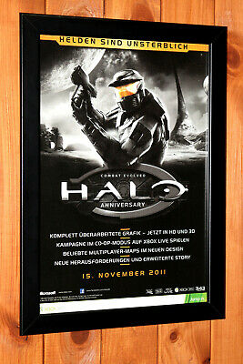 £32.91 • Buy Halo Combat Evolved Anniversary Xbox One 360 Promo Mini Poster / Ad Page Framed