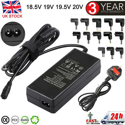 £12.99 • Buy 90W Multi Universal Charger AC Adapter Power Supply For HP Acer Toshiba Laptops