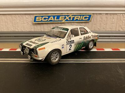 £120 • Buy Scalextric Ford Escort Mk1 RS 1600 Eddie Stobart No2 Extremly Rare Car Brand New