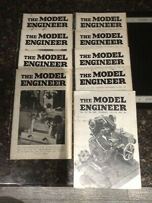 £8.99 • Buy Model Engineer Vintage Magazine Selection Nine From 1946 And One From 1950