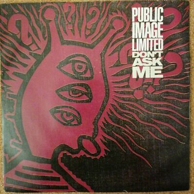 £6.99 • Buy Public Image Limited - Don't Ask Me 7  Vinyl Pic Sleeve