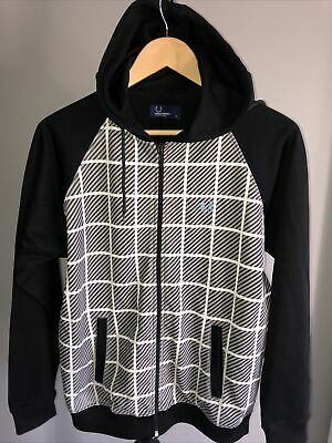 £9.99 • Buy Youths/Mens Fred Perry Hoodie Tracksuit Top Sports Zip Up Jacket Size Youths XL