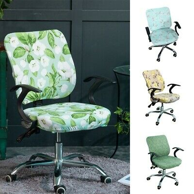 AU11.44 • Buy Office Chair Slipcover Elastic Rotating Armchair Cover Desk Task Seat Covers