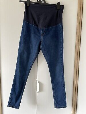 £7.25 • Buy Topshop Maternity Joni Jeans Over The Bump Skinny Size 10 L30