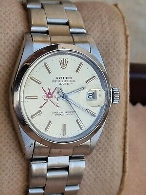 $ CDN6292.99 • Buy Rolex Date  Men's Stainless Steel Automatic Printed Oman Logo Dial 34mm